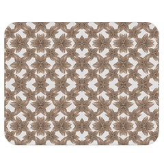 Stylized Leaves Floral Collage Double Sided Flano Blanket (medium)  by dflcprints