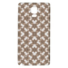Stylized Leaves Floral Collage Galaxy Note 4 Back Case by dflcprints