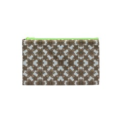 Stylized Leaves Floral Collage Cosmetic Bag (xs) by dflcprints