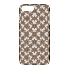 Stylized Leaves Floral Collage Apple Iphone 7 Plus Hardshell Case by dflcprints