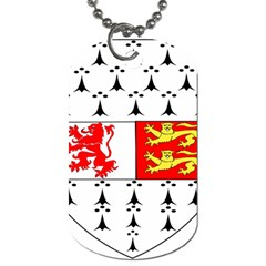 County Carlow Coat Of Arms Dog Tag (two Sides)