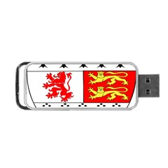 County Carlow Coat Of Arms Portable Usb Flash (one Side) by abbeyz71
