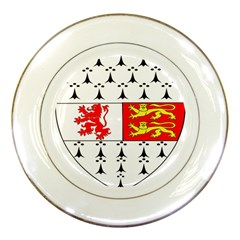 County Carlow Coat Of Arms Porcelain Plates by abbeyz71