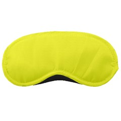 Neon Color   Light Brilliant Yellow Sleeping Masks by tarastyle