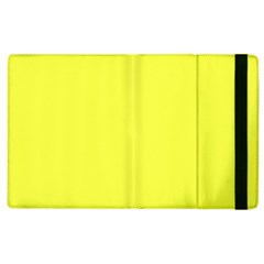 Neon Color   Light Brilliant Yellow Apple Ipad 3/4 Flip Case by tarastyle