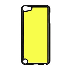 Neon Color   Light Brilliant Yellow Apple Ipod Touch 5 Case (black) by tarastyle