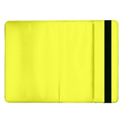Neon Color   Light Brilliant Yellow Samsung Galaxy Tab Pro 12 2  Flip Case by tarastyle