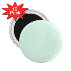 Neon Color   Light Malachite Greenish Gray 2 25  Magnets (10 Pack)  by tarastyle