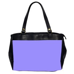 Neon Color   Light Persian Blue Office Handbags (2 Sides)  by tarastyle