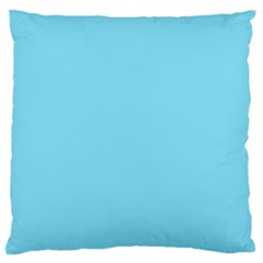 Neon Color   Luminous Vivid Blue Large Flano Cushion Case (two Sides) by tarastyle