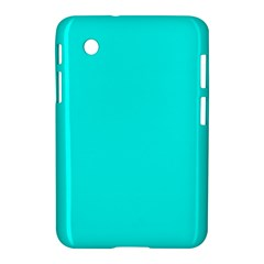 Neon Color   Luminous Vivid Cyan Samsung Galaxy Tab 2 (7 ) P3100 Hardshell Case  by tarastyle