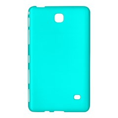 Neon Color   Luminous Vivid Cyan Samsung Galaxy Tab 4 (8 ) Hardshell Case  by tarastyle