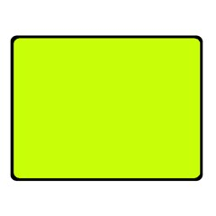 Neon Color   Luminous Vivid Lime Green Fleece Blanket (small) by tarastyle