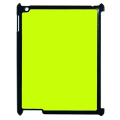 Neon Color   Luminous Vivid Lime Green Apple Ipad 2 Case (black) by tarastyle