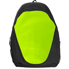 Neon Color   Luminous Vivid Lime Green Backpack Bag by tarastyle