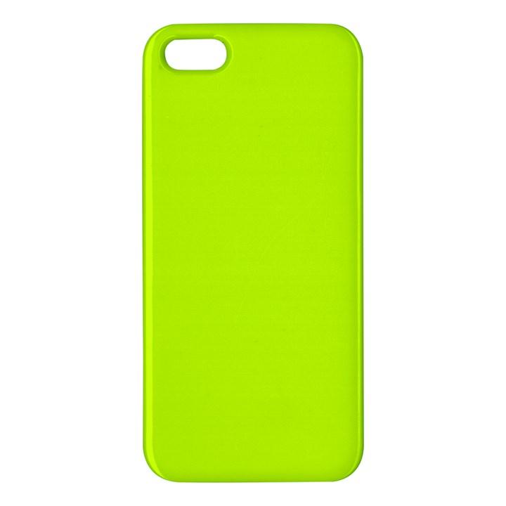 Neon Color - Luminous Vivid Lime Green Apple iPhone 5 Premium Hardshell Case