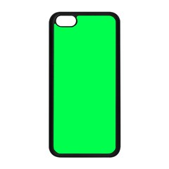 Neon Color   Luminous Vivid Malachite Green Apple Iphone 5c Seamless Case (black) by tarastyle