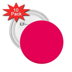 Neon Color   Luminous Vivid Raspberry 2 25  Buttons (10 Pack)  by tarastyle
