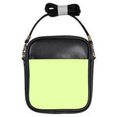 Neon Color   Pale Lime Green Girls Sling Bags by tarastyle