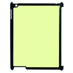 Neon Color   Pale Lime Green Apple Ipad 2 Case (black) by tarastyle