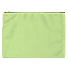 Neon Color   Pale Lime Green Cosmetic Bag (xxl)  by tarastyle