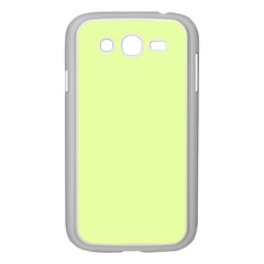 Neon Color   Pale Lime Green Samsung Galaxy Grand Duos I9082 Case (white) by tarastyle