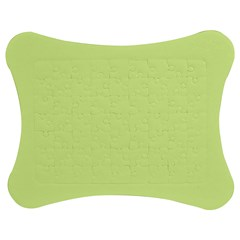 Neon Color   Pale Lime Green Jigsaw Puzzle Photo Stand (bow) by tarastyle