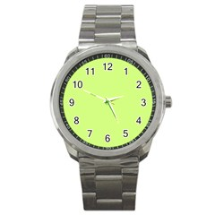 Neon Color   Very Light Spring Bud Sport Metal Watch by tarastyle
