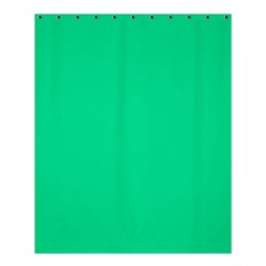 Neon Color   Vivid Aquamarine Shower Curtain 60  X 72  (medium)  by tarastyle