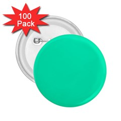 Neon Color   Vivid Turquoise 2 25  Buttons (100 Pack)  by tarastyle