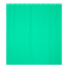 Neon Color   Vivid Turquoise Shower Curtain 66  X 72  (large)  by tarastyle