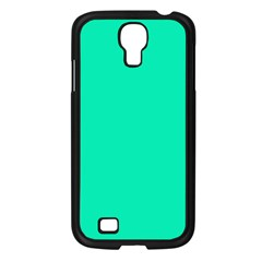 Neon Color   Vivid Turquoise Samsung Galaxy S4 I9500/ I9505 Case (black) by tarastyle