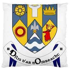 County Clare Coat Of Arms Standard Flano Cushion Case (one Side) by abbeyz71