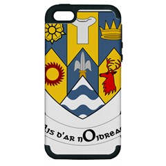County Clare Coat Of Arms Apple Iphone 5 Hardshell Case (pc+silicone) by abbeyz71