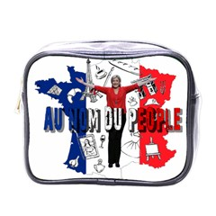 Marine Le Pen Mini Toiletries Bags by Valentinaart