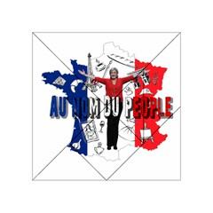 Marine Le Pen Acrylic Tangram Puzzle (4  X 4 ) by Valentinaart
