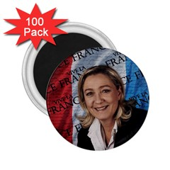 Marine Le Pen 2 25  Magnets (100 Pack)  by Valentinaart