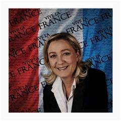 Marine Le Pen Medium Glasses Cloth by Valentinaart