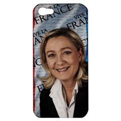 Marine Le Pen Apple Iphone 5 Hardshell Case by Valentinaart
