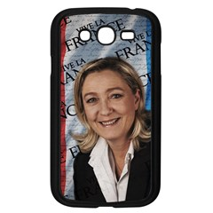 Marine Le Pen Samsung Galaxy Grand Duos I9082 Case (black) by Valentinaart