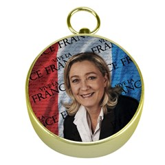 Marine Le Pen Gold Compasses by Valentinaart