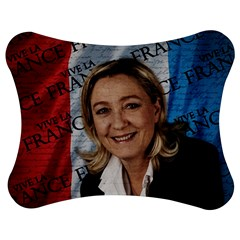 Marine Le Pen Jigsaw Puzzle Photo Stand (bow) by Valentinaart