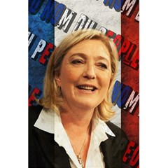Marine Le Pen 5 5  X 8 5  Notebooks by Valentinaart