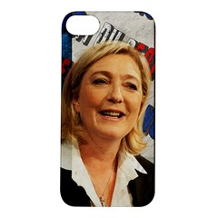 Marine Le Pen Apple Iphone 5s/ Se Hardshell Case by Valentinaart
