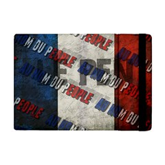Marine Le Pen Apple Ipad Mini Flip Case by Valentinaart