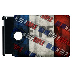 Marine Le Pen Apple Ipad 3/4 Flip 360 Case by Valentinaart