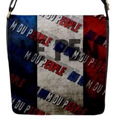 Marine Le Pen Flap Messenger Bag (s) by Valentinaart