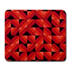 Fake Wood Pattern Large Mousepads by linceazul