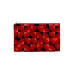 Fake Wood Pattern Cosmetic Bag (small)  by linceazul