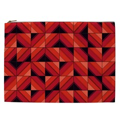 Fake Wood Pattern Cosmetic Bag (xxl)